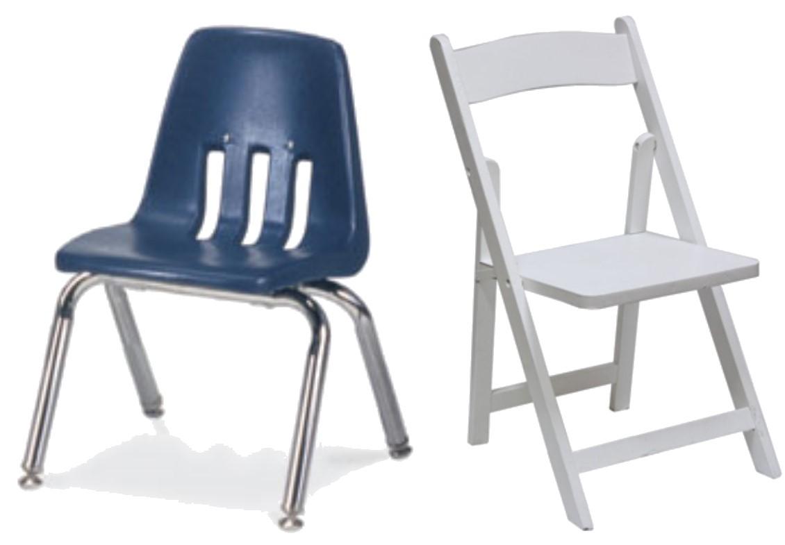 Elegant and decorative children chairs