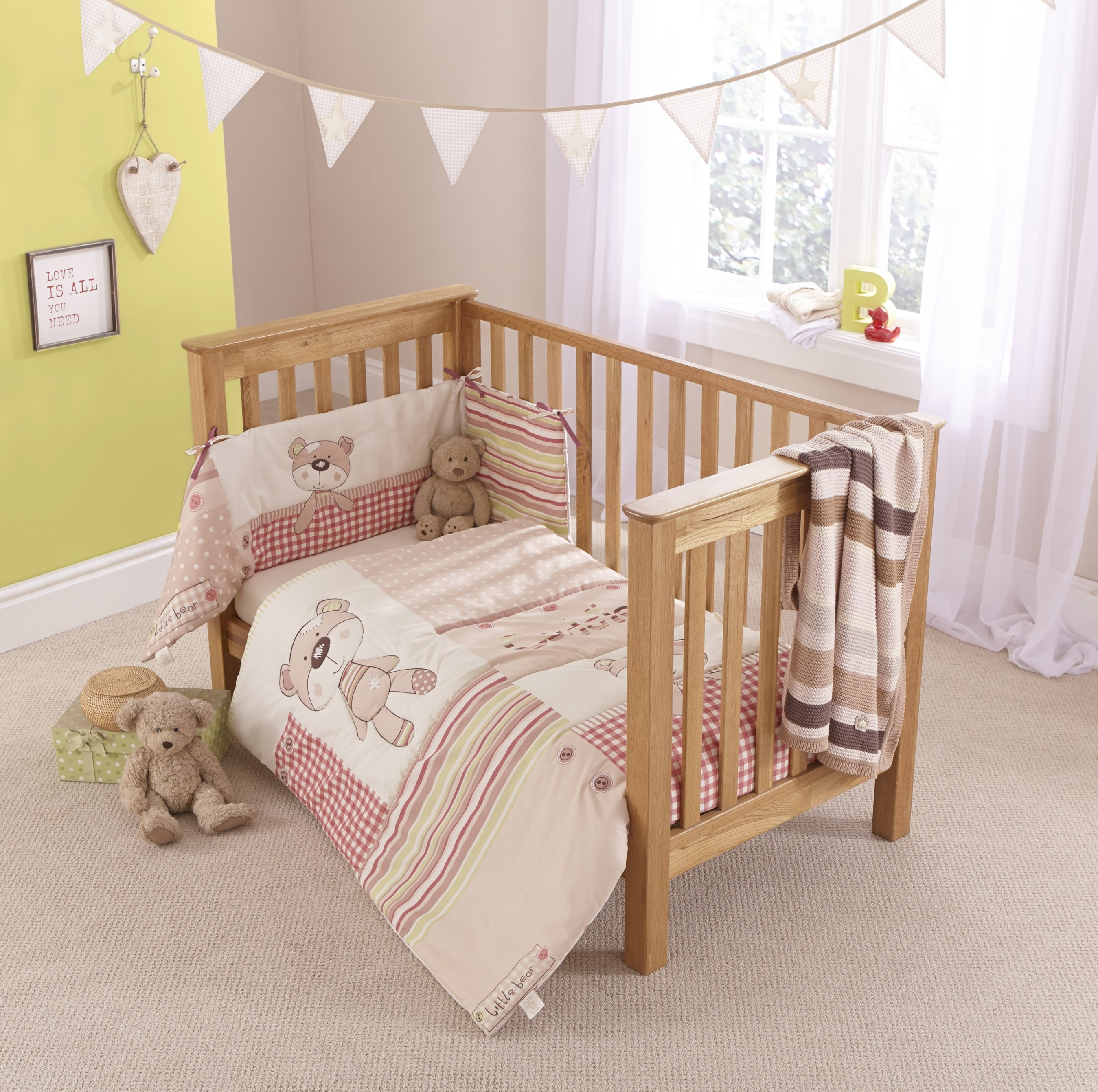 clair de lune little bear cot bedding set732/5946 HEBESHV