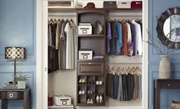 closet organization design a closet organizer IYFMVYL