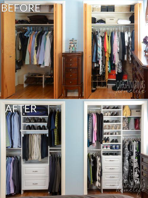 closet organization find this pin and more on organizing :: closets. GIKDMGQ