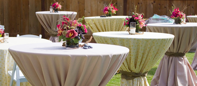 Add more beauty to your table with table linens