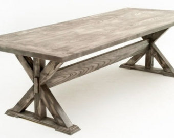 contemporary rustic dining table design #3 MJDVCZH