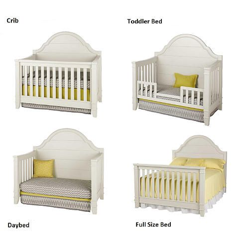 convertible cribs million dollar baby classic sullivan 4-in-1 convertible crib - dove -  million OYXDOUS