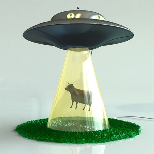 cool lamps i so want this alien abduction lamp! (it sure beats the alien probe SUHUEGF