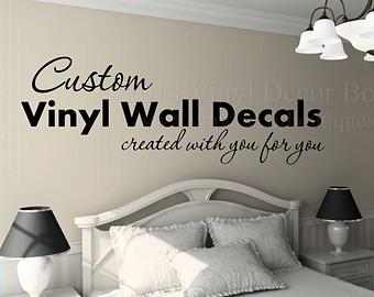 custom wall decals 47 custom vinyl wall decals, renew your room with custom vinyl wall decals XQIDWCZ