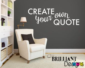 custom wall decals custom wall quote decal - custom wall saying - custom wall cling - JBKQKNM