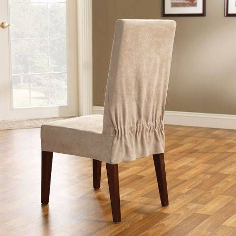 dining room chair covers dining room hair covers | maybe try something like that? if youu0027re handy CMXWOOL