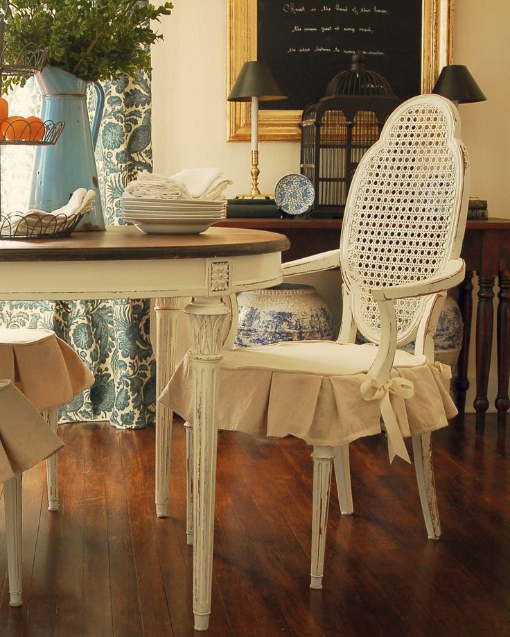 dining room chair covers miss mustard seed: dining chair slipcover tutorial. dining room chair  slipcoversdining ... MJNPHVP