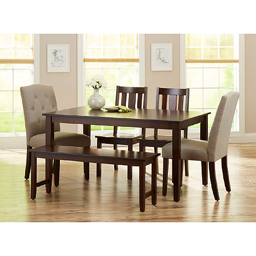 dining room table and chairs kitchen u0026 dining furniture - walmart.com EEOUIOU