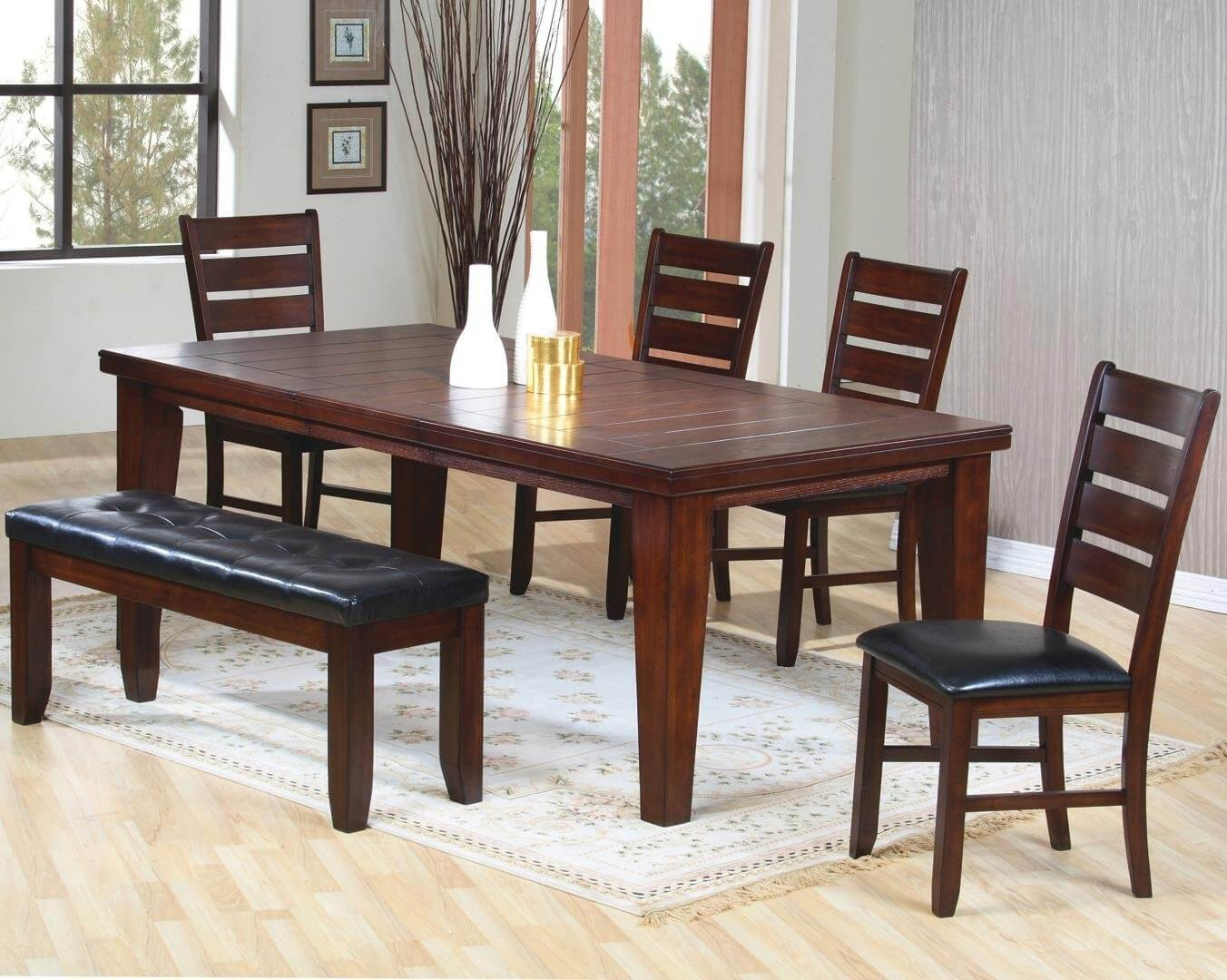 dining room table sets 26 dining room furniture sets with a bench TOADVDP
