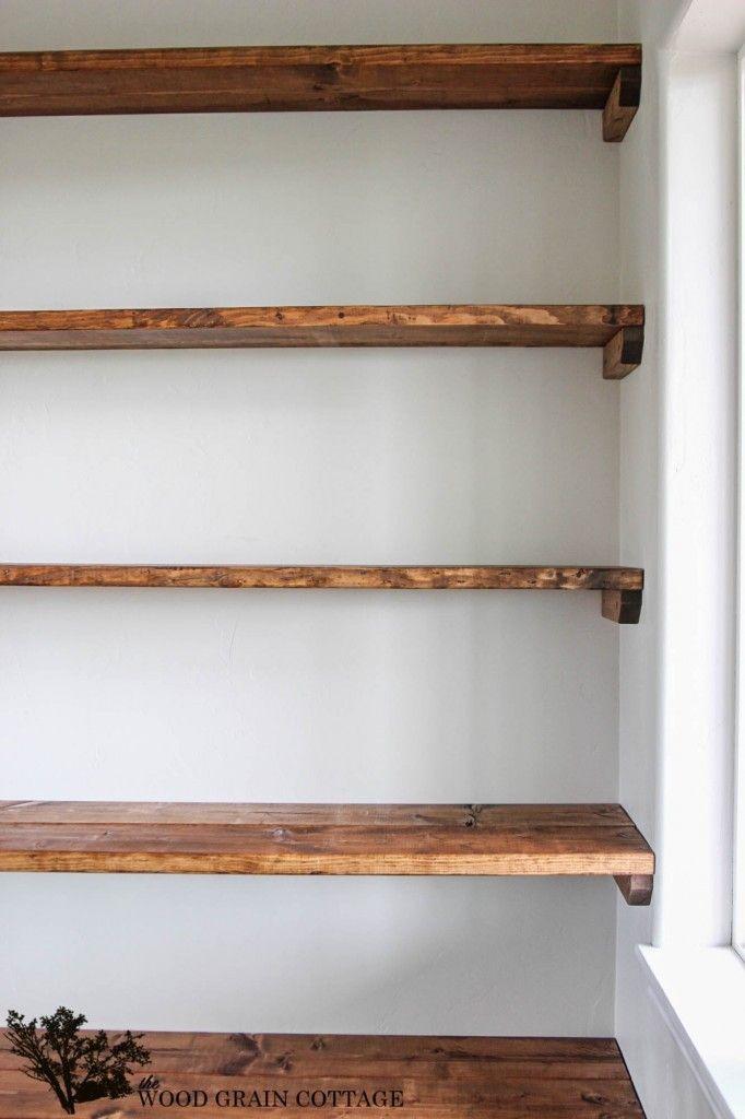 diy shelves - 18 diy shelving ideas JBKEUGS