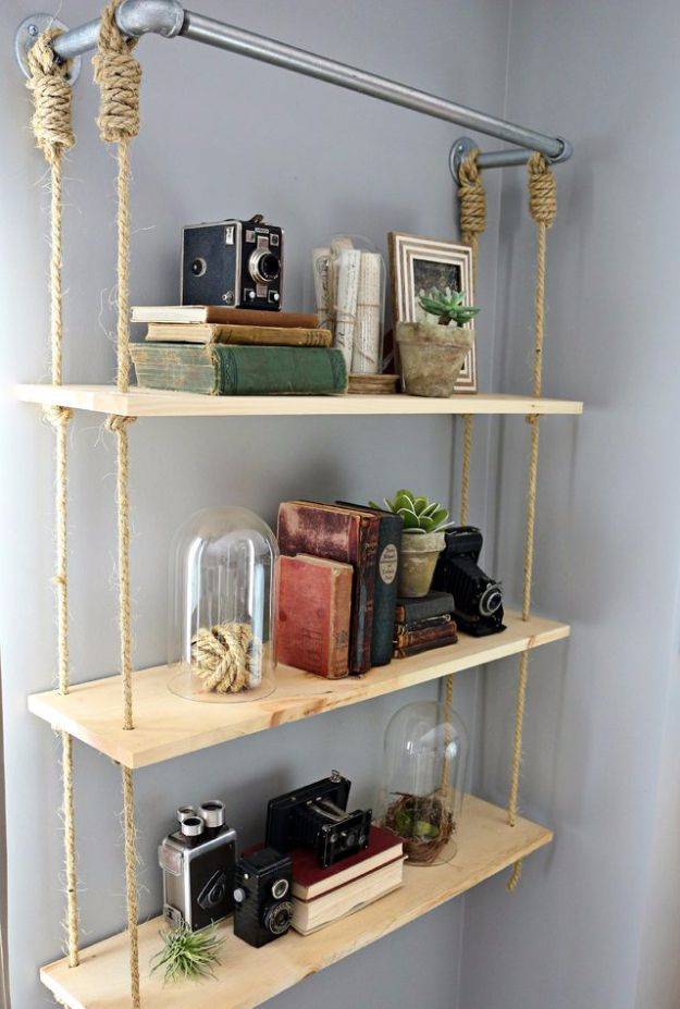 diy shelves 37 brilliantly creative diy shelving ideas DVBOYLW