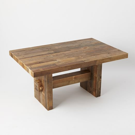 emmerson® reclaimed wood dining table. view larger. roll over image to  zoom. JYRSIQV
