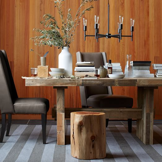 Constructing a reclaimed wood dining table