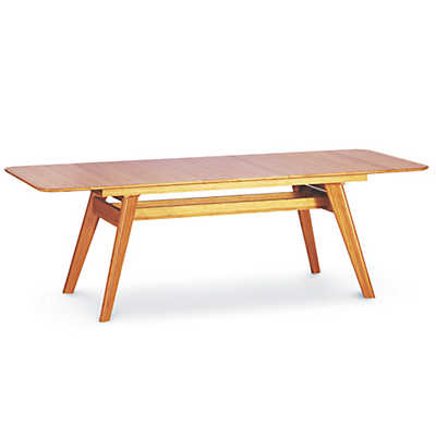 extending dining table currant extendable dining table by greenington YBYLZNI