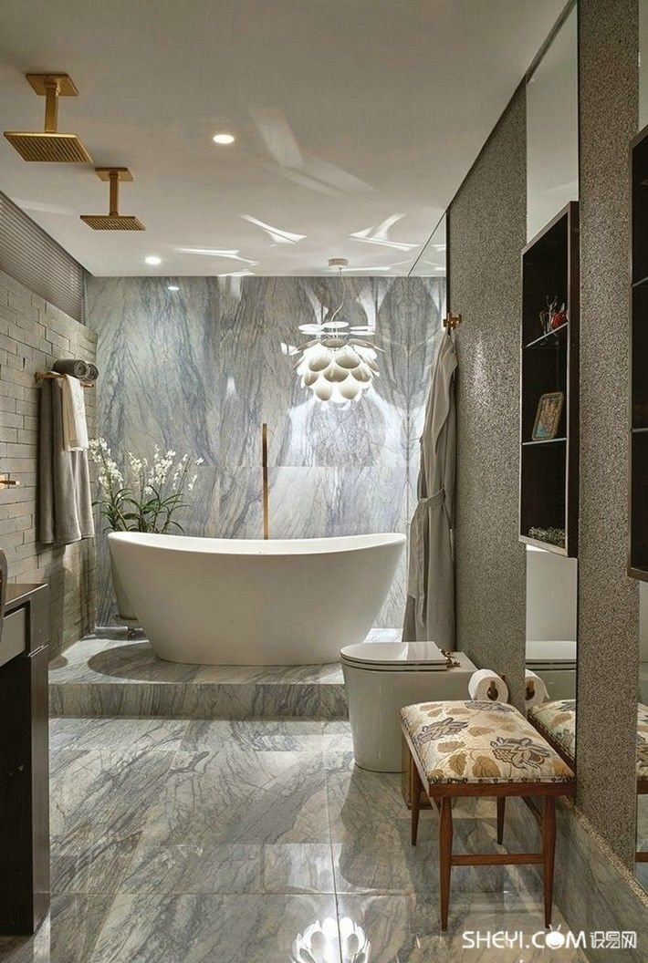 extraordinary luxury bathrooms that will mesmerize you PAXJGNI