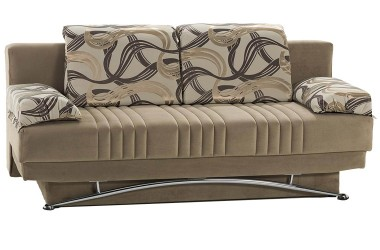 fantasy convertible sofa bed queen size tan ILCVFOJ