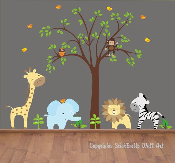 find this pin and more on baby. nursery wall decals ... CWLPVZC