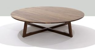 finn solid wood round coffee table | modern occasional tables| speke klein OHPMVWI
