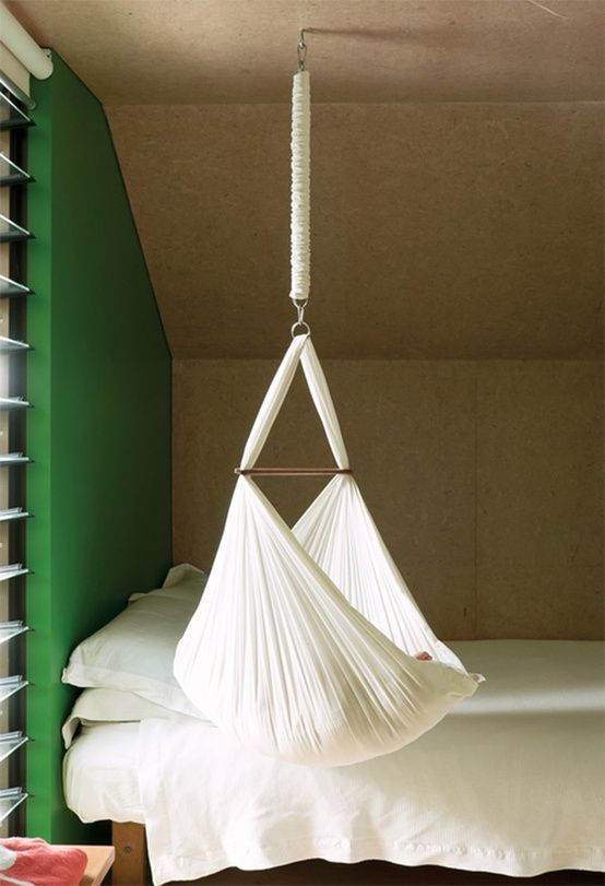 floating crib - baby hammock by natureu0027s sway. what a cool baby bed XBNRPOQ
