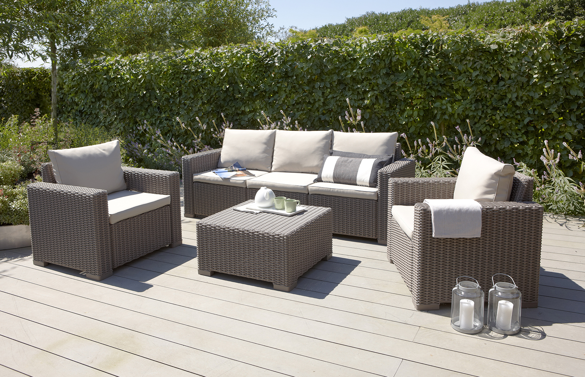 for rattan garden furniture inspiring 4 piece rattan garden furniture KYTGBDQ