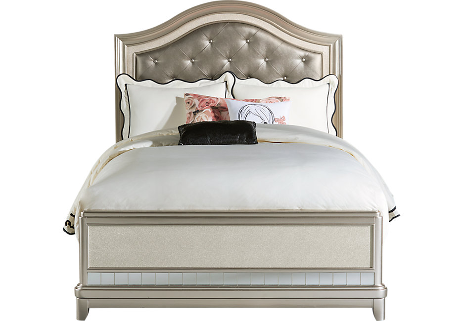 full bed sofia vergara petit paris champagne 3 pc full panel bed - beds colors NEDVMEP