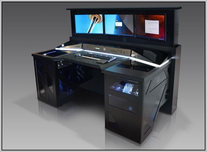 gaming computer desk gaming computer desks uk - desk : home furniture design #r02mvgdj1d20591 ZYRNCIU