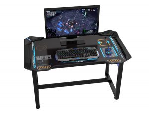 gaming computer desk how would you like to own the worldu0027s first wirelessly controlled glow in TUYXZXL