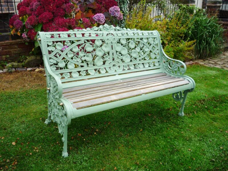 garden benches antique bench,garden bench,garden seat,ukaa,cast iron garden seat, ZQJTKSM