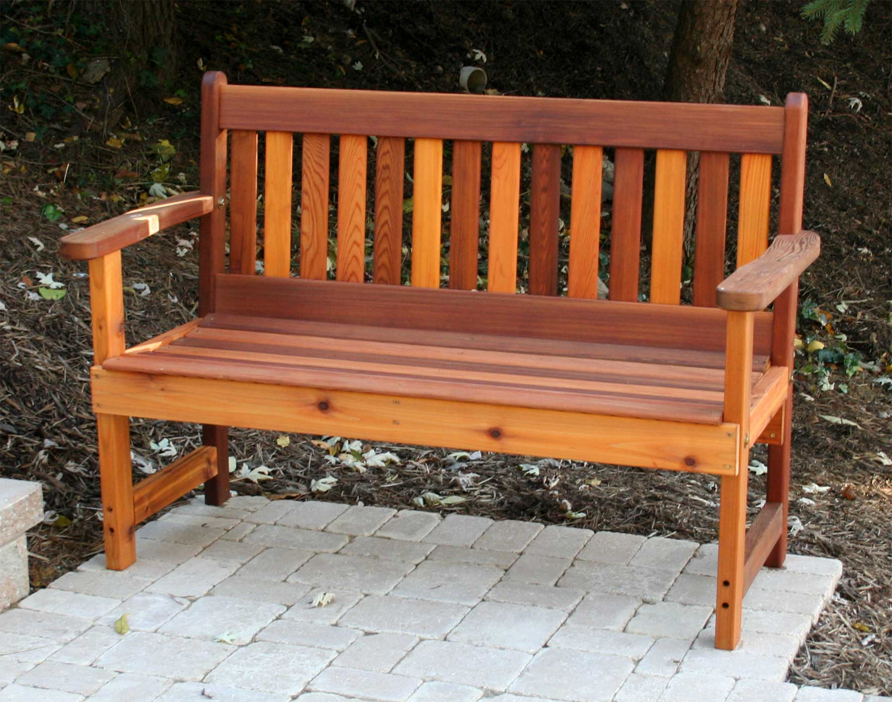 The garden benches of usa