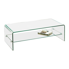 gdfstudio - charlize glass coffee table - coffee tables MYNVKCD