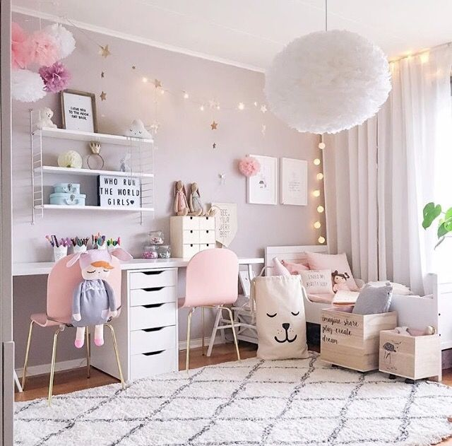 girls bedroom ideas a pretty pink girlu0027s room - is ... RFKJEPD