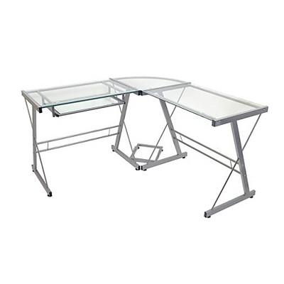 glass computer desk $129.99 VMJCFKV