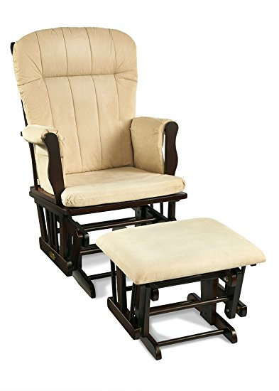 graco avaalon glider rocker with ottoman, espresso (discontinued by  manufacturer) (discontinued by HSFSCWO