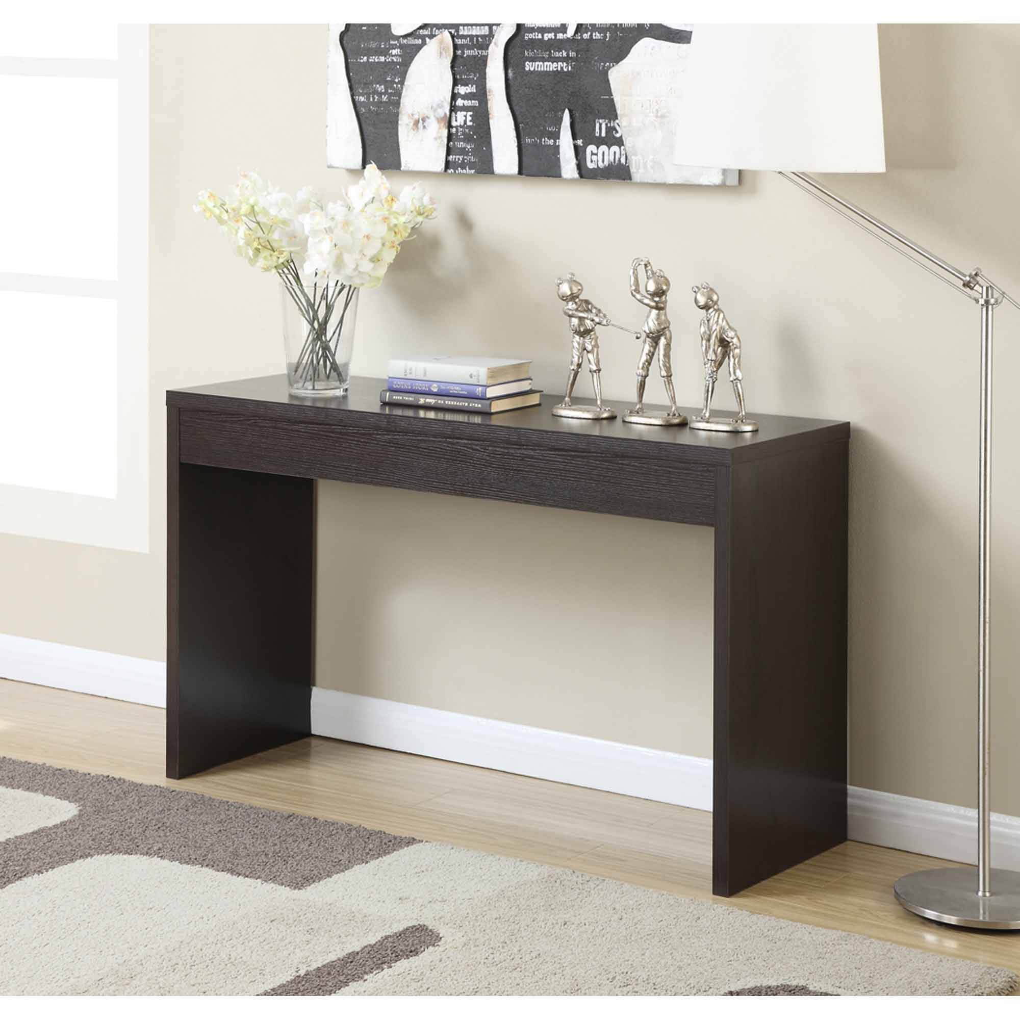 hallway table convenience concepts northfield hallway console table, mutilple colors UNUNGZI