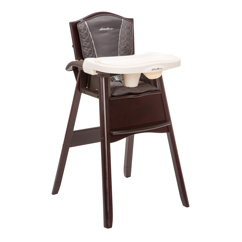 high chairs eddie bauer classic 3 in 1 high chair coal creek hc199bzw XEOZNLQ