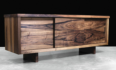 hudson furniture sliding door console modern solid wood furniture from  hudson furniture, KVAPZBI