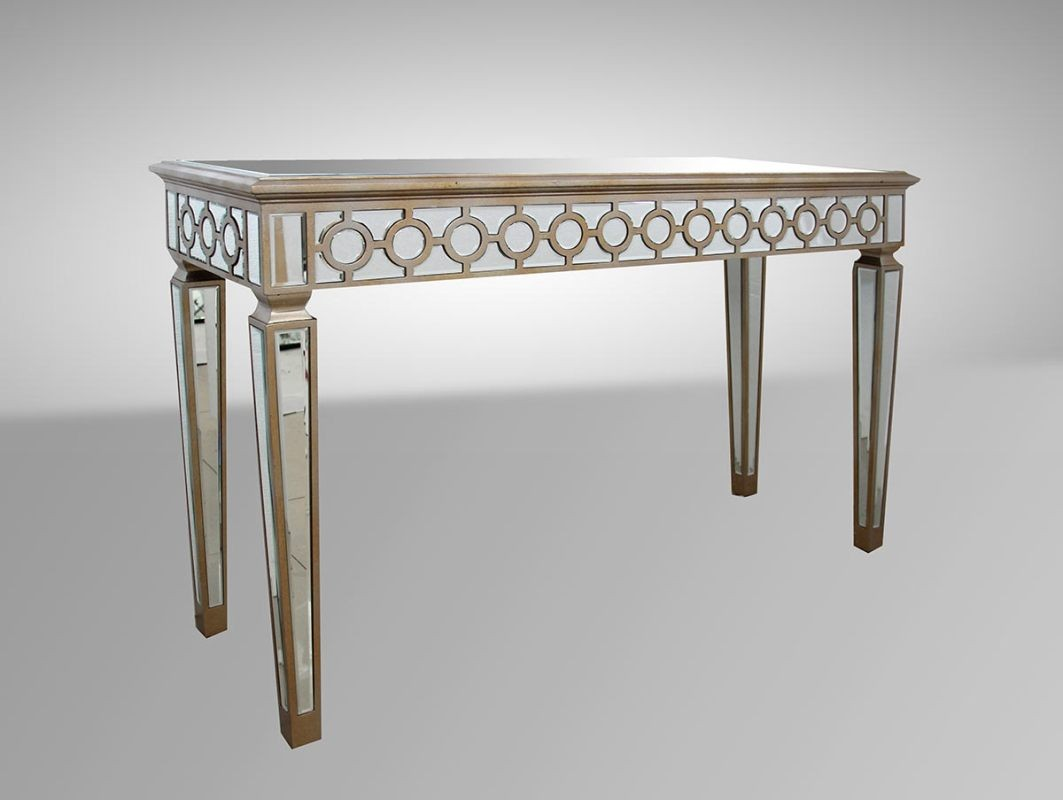 Purchasing an ideal mirrored console table