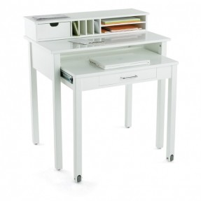 iu0027ve been searching for a small desk. great solution. FLIYYYZ