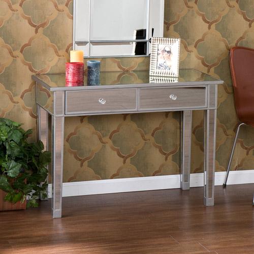 illusions collection mirrored console table/desk IBJMNVA