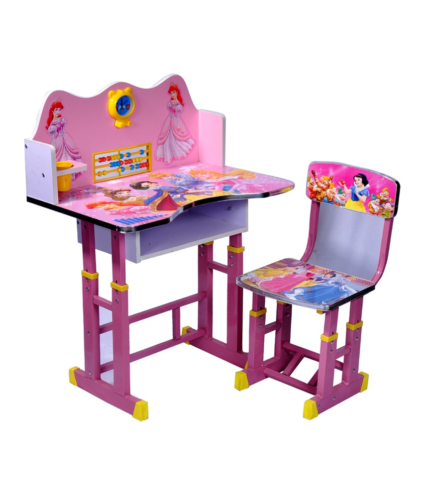 image of: kids study table wizard barbie CLVFZQS