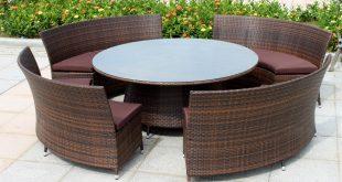 image of: outdoor wicker furniture sets HOZTKBE