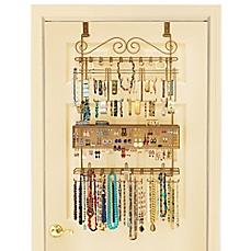 image of over-the-door jewelry organizer in bronze SBBAIGW