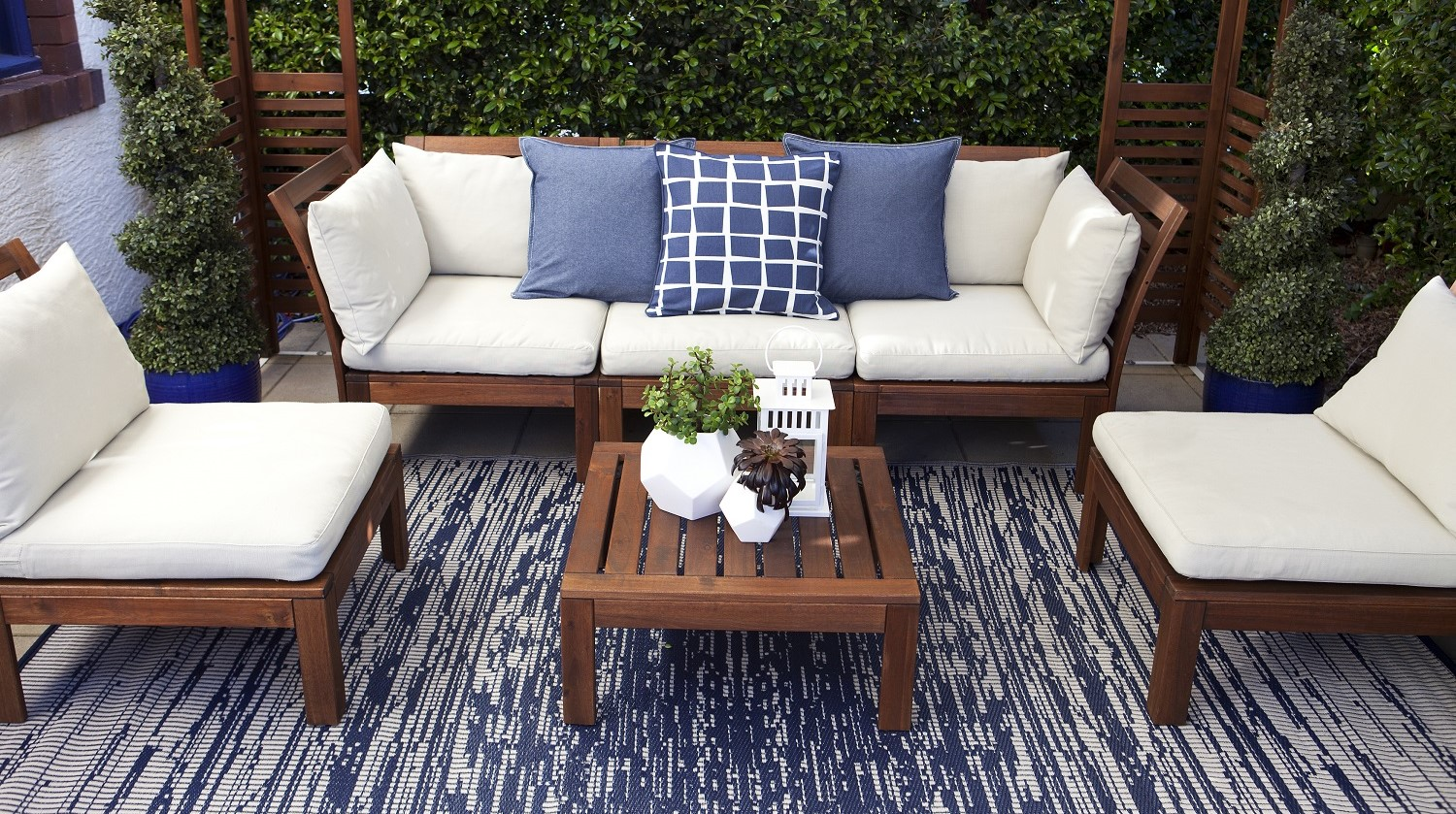 Outdoor rugs make your outdoors aesthetically beautiful