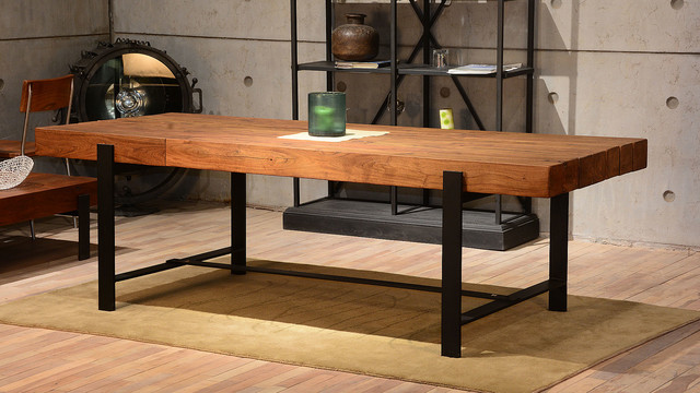 How to make your home unique with rustic dining tables: