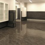 Uniquely designed linoleum flooring
