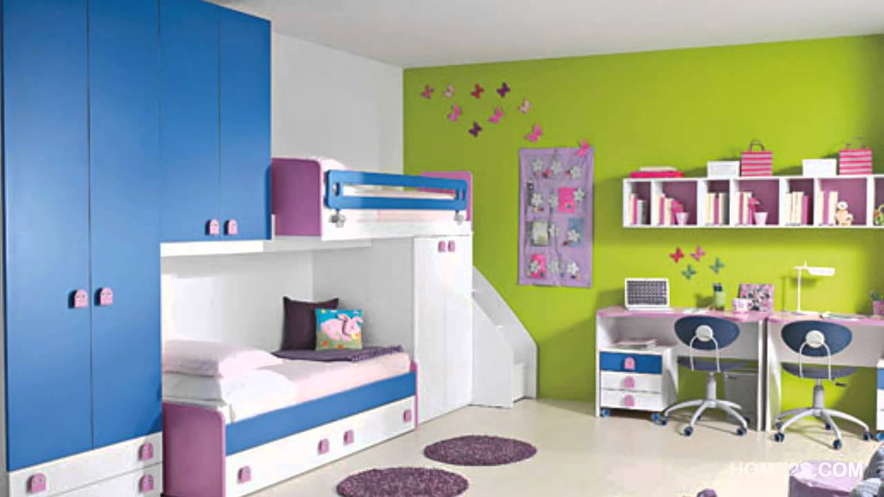 kids bedroom decoration colorful kids room decor ideas 02 - youtube PFEUEYS
