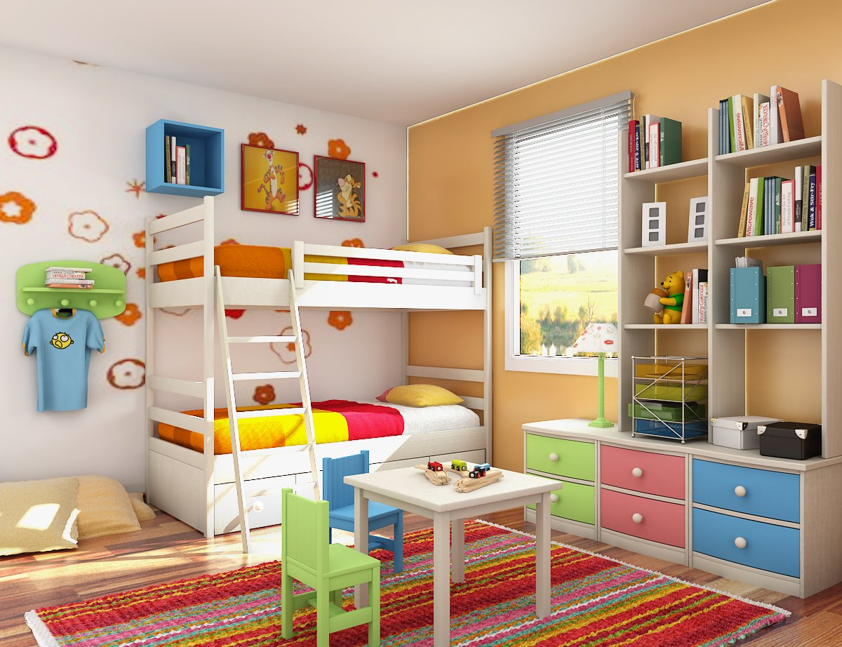 kids bedroom decoration yellow kids room · kids playroom UXTXWUF