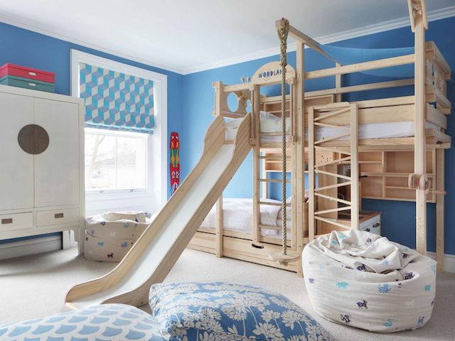 Decorating children's room with kids beds