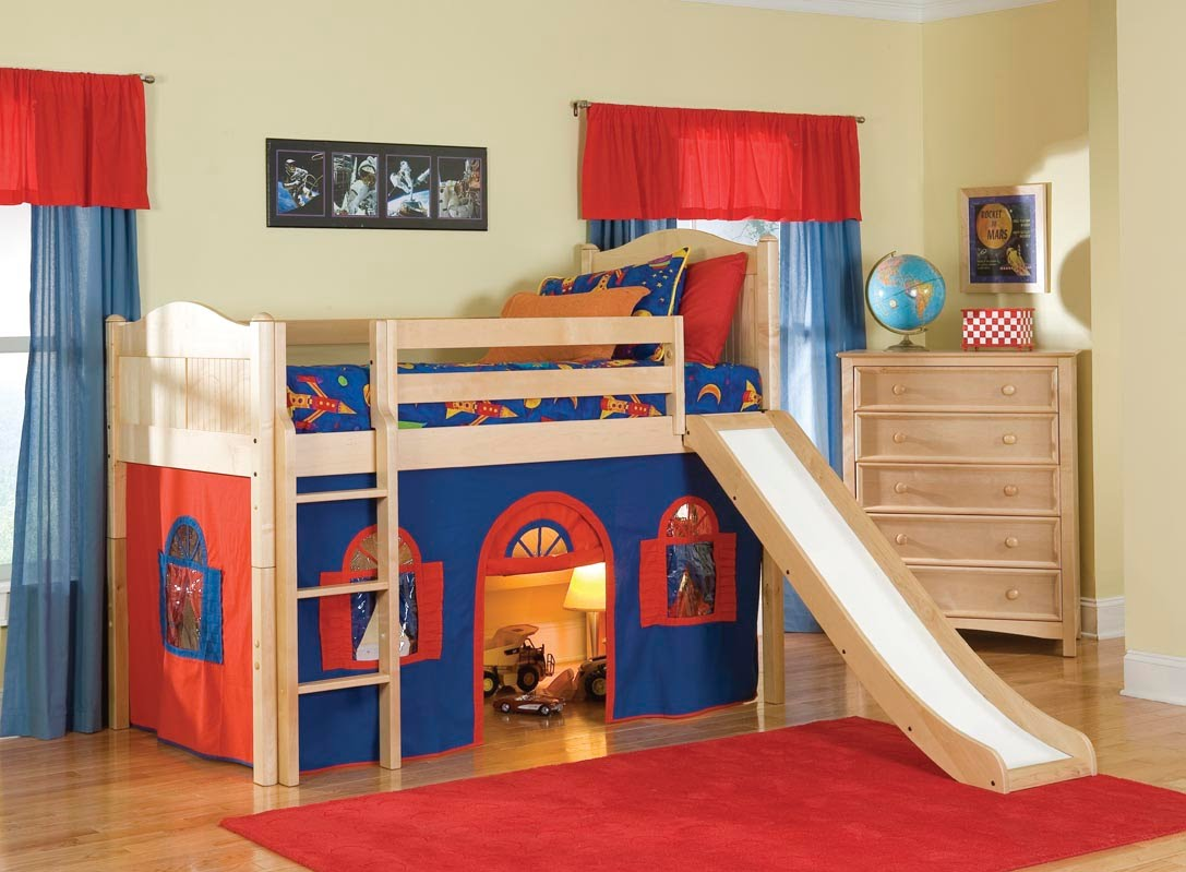 kids beds kids bunk bed i kids bunk beds with slide - youtube JUEZJAW